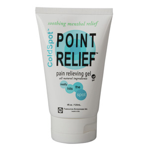 Fabrication Enterprises, Inc. Point Relief ColdSpot gel tube, 4 ounce