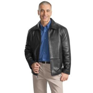 Port Authority - Park Avenue Lambskin Jacket.  J785